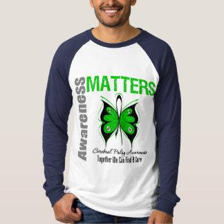 Sujets de conscience d'infirmité motrice cérébrale t-shirt