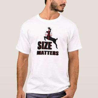 Sujets de taille ! Chasse de cerfs communs T-shirt