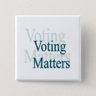 Sujets de vote badges