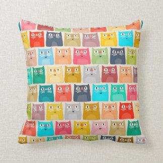summer cats pillows