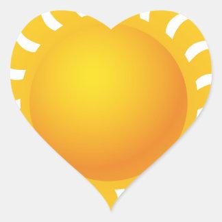 Sun Sticker Cœur
