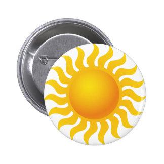 Sun Badge Rond 5 Cm