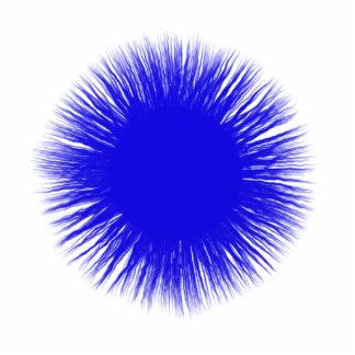 Sun bleu photo sculpture