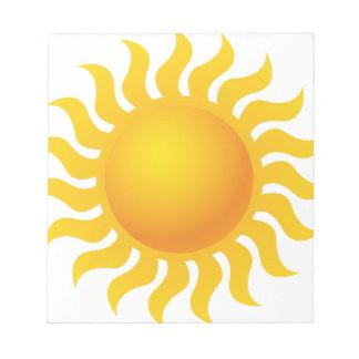 Sun Bloc-notes Mémo