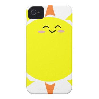 Sun brillant heureux coque iPhone 4