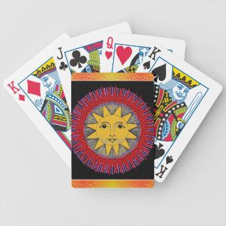 Sun de sourire jeu de poker