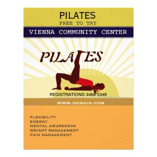 Sun d'or folâtre la forme physique Pilates Prospectus 21,6 Cm X 24,94 Cm