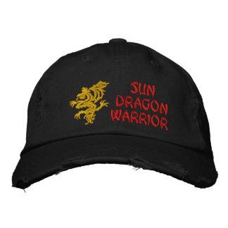 Sun, dragon, guerrier casquette brodée