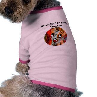 Sun drôle fait face à l'habillement d'animal famil t-shirt pour animal domestique