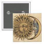 Sun et lune badges