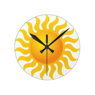 Sun Horloge Ronde