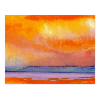 Sun Scape - produits d'art d'océan de CricketDiane Cartes Postales