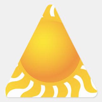 Sun Sticker Triangulaire