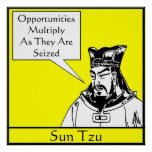 Sun Tzu -- Stratège militaire chinois Posters