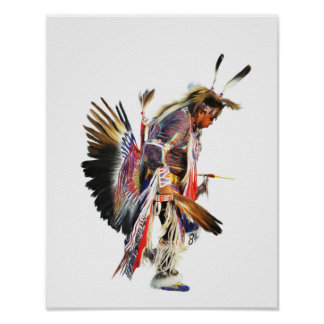 Sundancer - affiche d'art du Natif américain 11x14 Posters