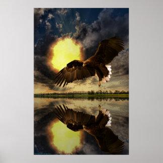 Sunrise-Eagle-Ver-1 Affiche