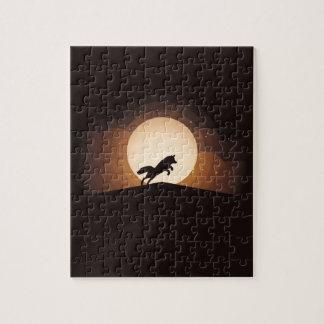 Sunset Fox Puzzle