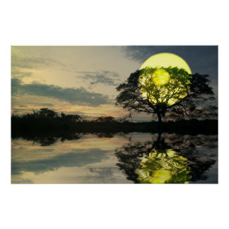 Sunset-landscape-Ver.4 Posters