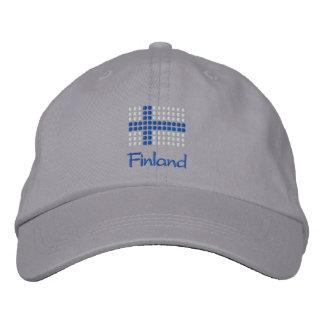 Suomi Hattu - casquette finlandais de drapeau