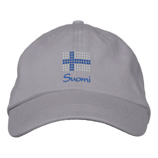 Suomi Lippalakit - casquette finlandais de drapeau