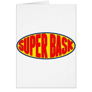 Super Bask du pays Basque Carte De Vœux