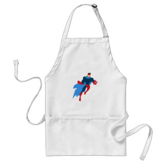 Super héros dans l'action tablier
