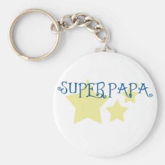 super papa porte-clés