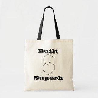 Superbe construit sac en toile