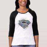 Supergirl griffonne le logo t-shirt