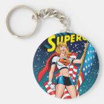 Supergirl Porte-clé Rond