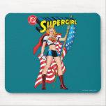 Supergirl Tapis De Souris
