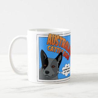 Superhéros australien de chien de bétail mug