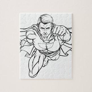 Superhéros de vol puzzle