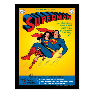 Superman #57 cartes postales