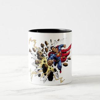Superman 68 tasse 2 couleurs