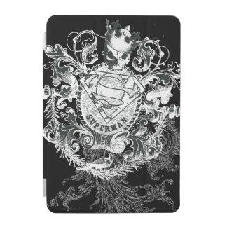 Superman a stylisé le logo bronzage de coeur de | protection iPad mini