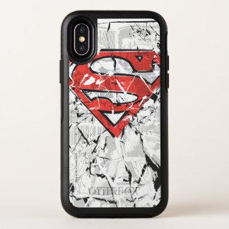 Superman a stylisé le logo comique chiffonné par |