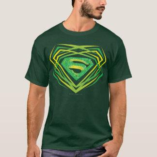 Superman a stylisé le logo décoratif vert de | t-shirt