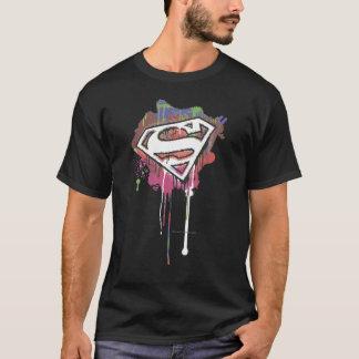Superman a stylisé le logo d'innocence tordu par | t-shirt