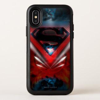 Superman a stylisé le logo futuriste de |