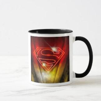 Superman a stylisé le logo rouge brillant mugs