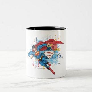 Superman - arrêtez le mal tasse 2 couleurs