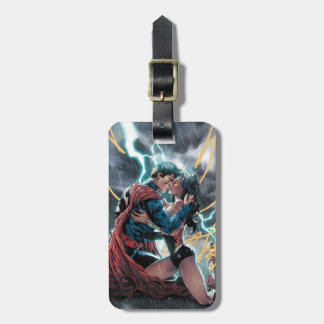 Superman/art promotionnel comique femme de étiquette à bagage