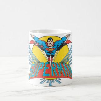 Superman avec des lettres mug