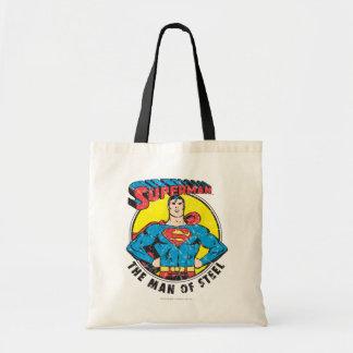 Superman l'homme de l'acier sac en toile budget