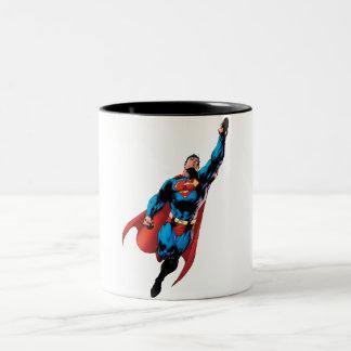 Superman monte tasse 2 couleurs
