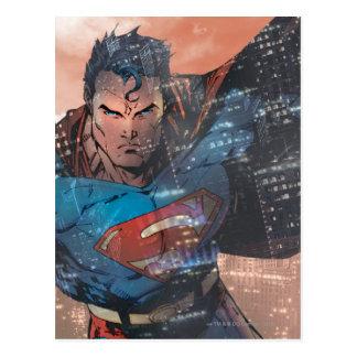 Superman - rouge carte postale