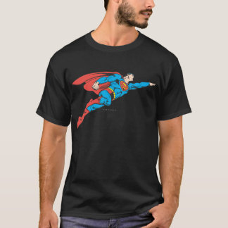 Superman volant juste t-shirt