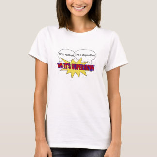 supermom, mère, T-shirt de belle-mère
