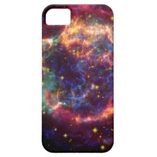 Supernova de galaxie de Cassiopeaia Coque Barely There iPhone 5